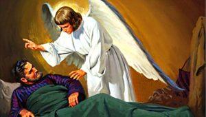 Angel Talks Into Ear 2028 End
