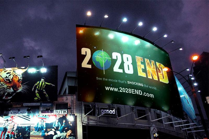 2028 End Roadside Billboard