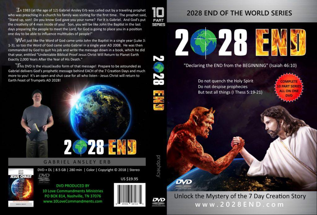 2028 END 10 Part Series DVD Full Outside Package Artwork