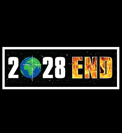 2028 End Bumper Sticker
