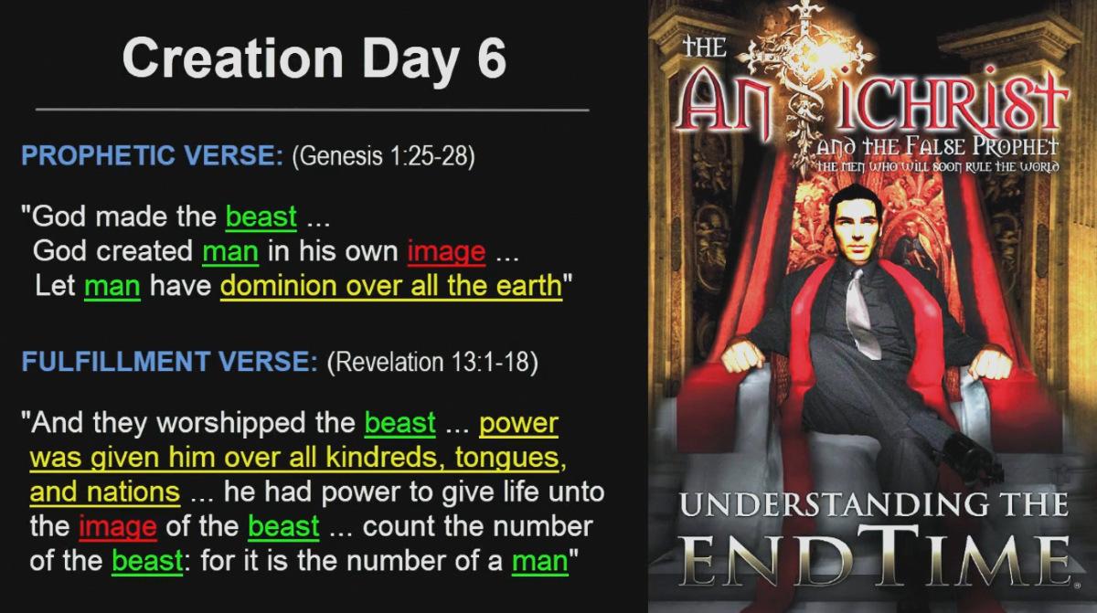 Creation Day 6 - Antichrist Great Tribulation